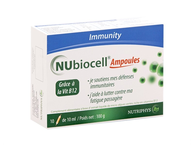Nubiocell - 10 ampoules - MBE