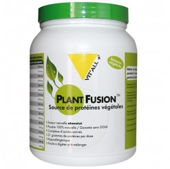 Plant Fusion Complexe Proteines Saveur chocolat - 450 g Vitall+