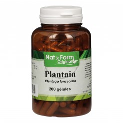 Plantain - 200 gélules Nat & Form