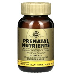 Prenatal Nutriments - 60 tablettes