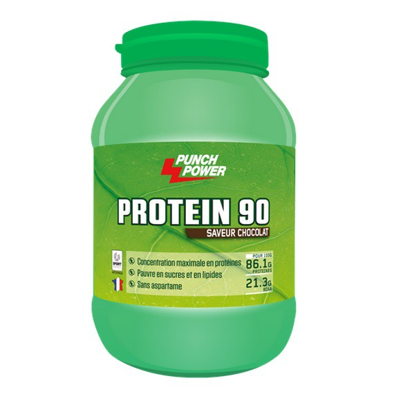 Protein 90 Chocolat - 750 g - Punch Power