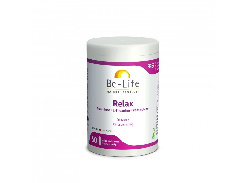 Relax - 60 gélules - Be-Life