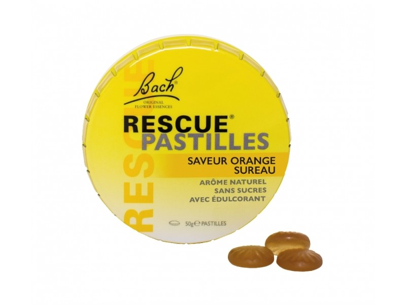 RESCUE® pastilles orange - 50 g - Bach