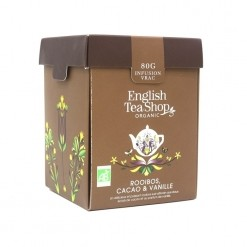 Rooibos chocolat vanille Bio - 100 g English Tea Shop