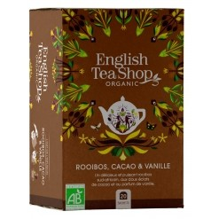 Rooibos chocolat vanille Bio - 20 sachets English Tea Shop
