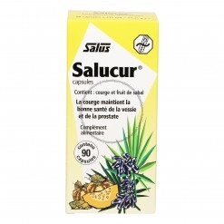 Salucur Sabal Courge - 90 capsules Salus