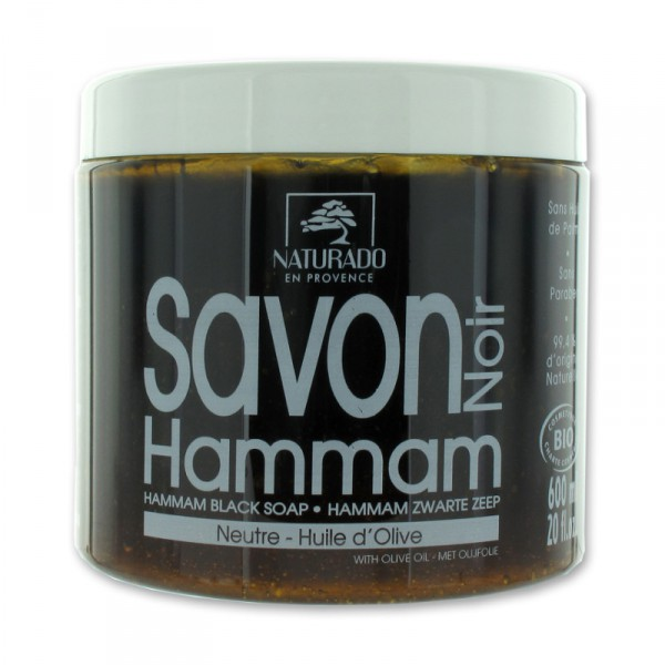 savon noir hammam bio 600 g naturado en provence. Black Bedroom Furniture Sets. Home Design Ideas