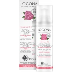 Sérum hydratant lissant rose de Damas Bio - 30 ml  Logona