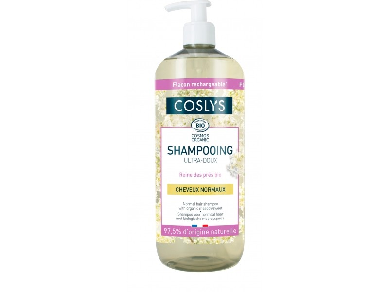 Shampooing ultra doux cheveux normaux - 1L - Coslys