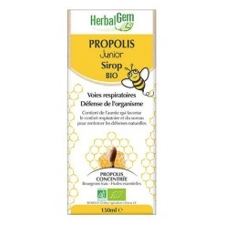 Sirop propolis junior Bio - 150 ml Herbalgem