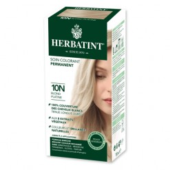 Soin colorant permanent 10N Blond Platine - 150ml - Herbatint