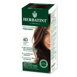 Soin colorant permanent 4D Chatain Doré - 150ml - Herbatint