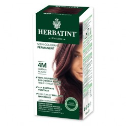 Soin colorant permanent 4M Chatain Acajou - 150ml Herbatint