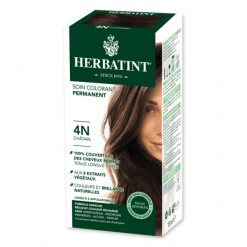 Soin colorant permanent 4N Chatain - 150ml Herbatint