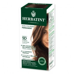 Soin colorant permanent 5D Chatain clair doré - 150 ml Herbatint