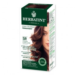 Soin colorant permanent 5R Chatain Clair Cuivré - 150ml Herbatint