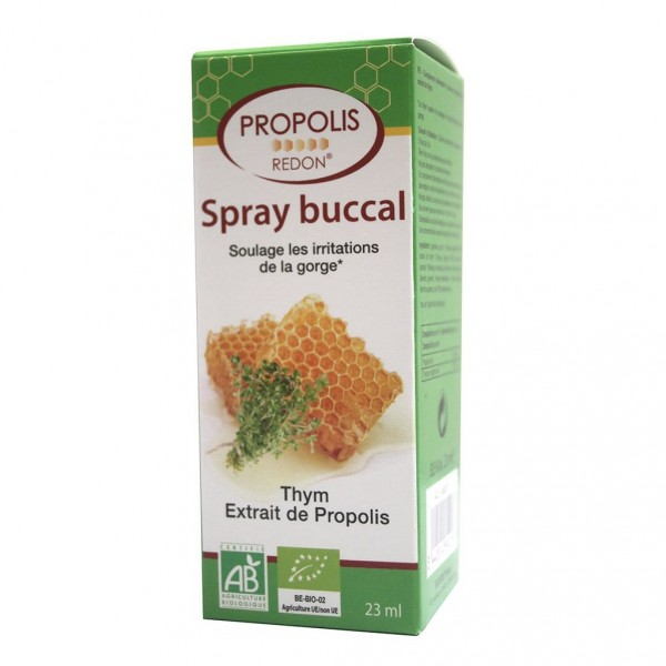 Spray Buccal à la Propolis Bio - 23 ml - Redon