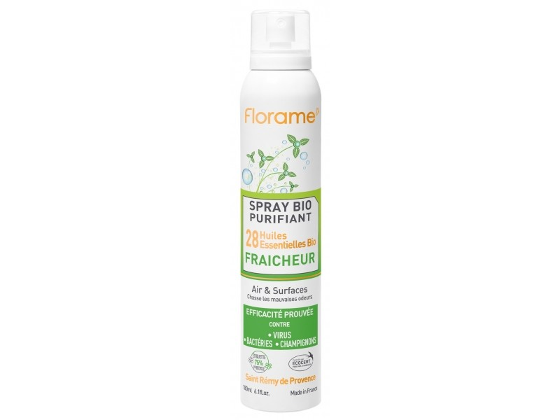 Spray purifiant Fraîcheur Bio - 180 ml - Florame