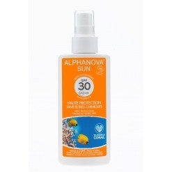 Spray solaire Bio SPF 30 haute protection - 125 g - Alphanova