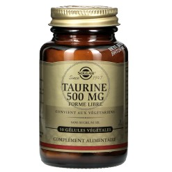 Taurine 500 mg - 50 végicaps  - Solgar