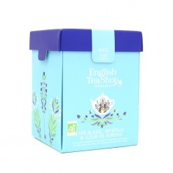 Thé blanc myrtille, fleurs de sureau Bio - 80 g English Tea Shop