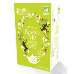 Thé blanc Revive Me Bio - 20 sachets English Tea Shop