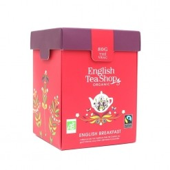 Thé noir English Breakfast Bio - 100 g vrac  English Tea Shop