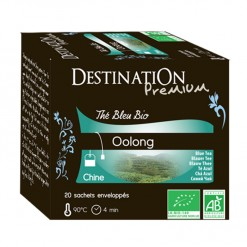Thé Oolong de Chine Bio - 20 sachets Destination Bio