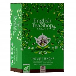 Thé vert Sencha Bio - 20 sachets English Tea Shop
