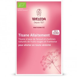 Tisane Allaitement fruits rouges Bio - 20 sachets Weleda