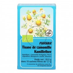 Tisane Camomille matricaire Bio - 15 sachets