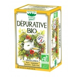 Tisane Dépurative Bio - 20 sachets - Romon Nature