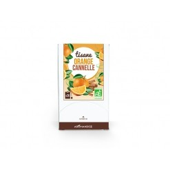 Tisane orange cannelle Bio - 20 sachets Aromandise