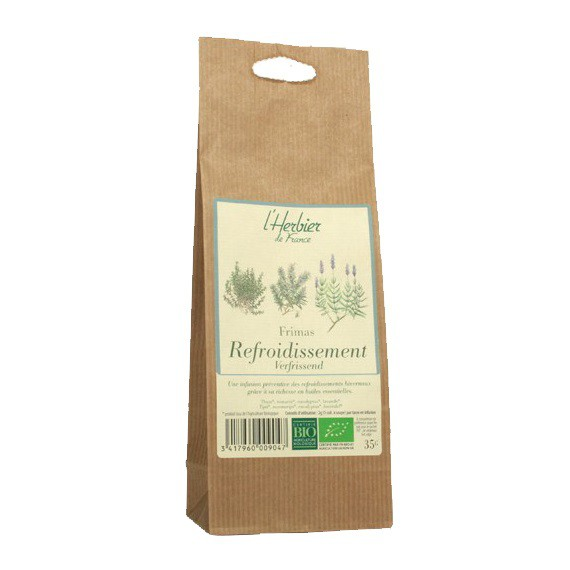 tisane refroidissement bio sachet 35 g herbier de france. Black Bedroom Furniture Sets. Home Design Ideas