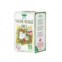 Tisane Vigne Rouge Bio - 20 sachets Romon Nature
