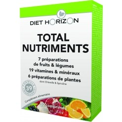 Total Nutriments - 30 comprimés Diet Horizon