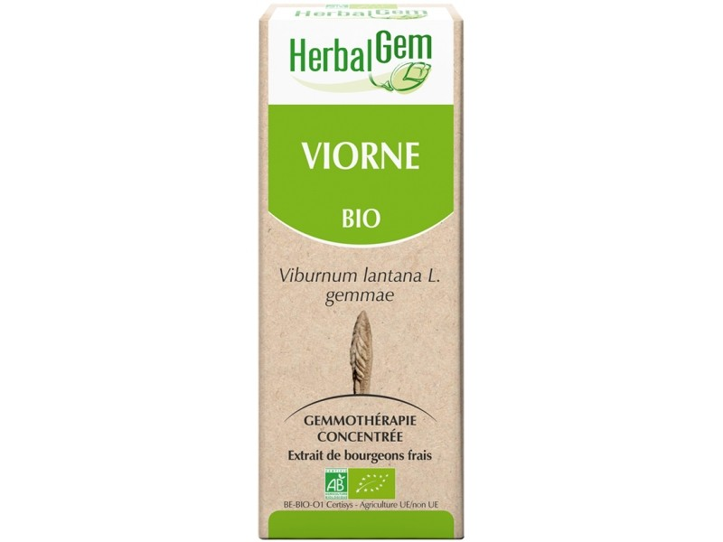 Viorne bourgeon Bio - 50 ml - Herbalgem