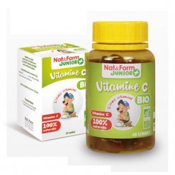 Vitamine C Bio - 24 oursons Nat & Form Junior +