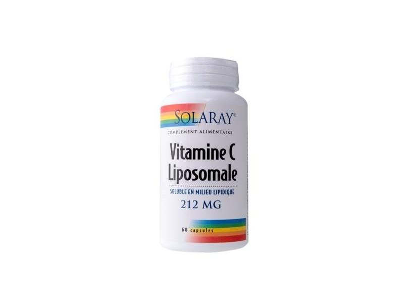 Vitamine C Liposomale - 60 gélules - Solaray