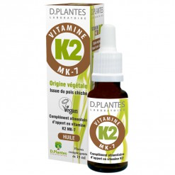 Vitamine K2 MK-7 - 15 ml  D.Plantes Laboratoire